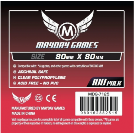 Mayday Games Square Card Sleeves (80x80mm)