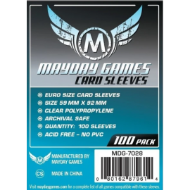 Mayday Games Euro Card Sleeves (59x92mm)
