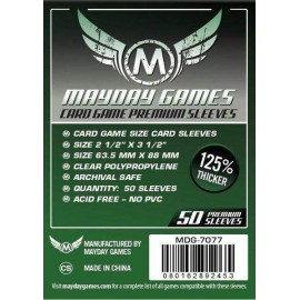 Premium Mayday Games Standard Card Game Sleeves (63.5x88mm)