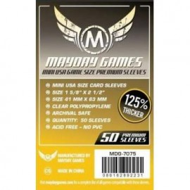 Premium Mayday Games Mini USA Card Sleeves (41x63mm)