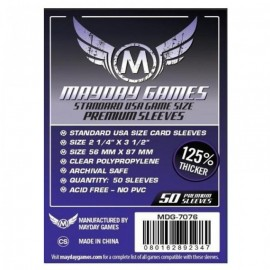 Mayday Games Standard USA Card Sleeves premium (56x87mm)