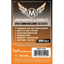 Mayday Games Standard USA Chimera Card Sleeves (57.5x89mm)