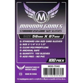 Mayday Games Standard USA Card Sleeves (56x87mm)