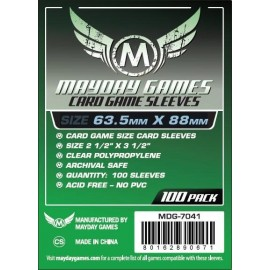 Mayday Games Standard Card Game Sleeves (63.5x88mm)
