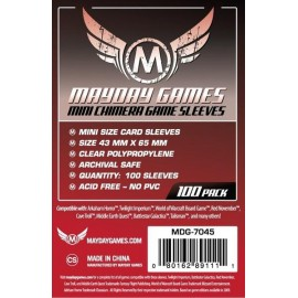 Mayday Games Mini Chimera Card Sleeves (43x65mm)