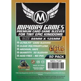 Mayday Games Card Sleeves (88x125mm)